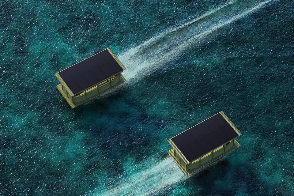 Como na Indonésia, a maioria dos barcos utilizados no mundo fazem o uso de combustíveis fósseis que trazem impactos negativos para o meio ambiente, vida marinha e população. (Duffy London/Reprodução)