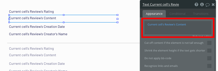 Bubble no code Zocdoc clone tutorial review configurations