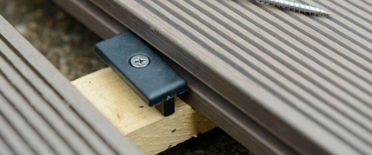 install decking with hidden fastener