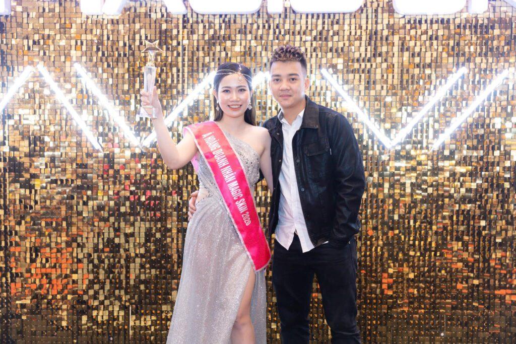 CEO Đinh Thị Cúc được vinh danh Á hoàng doanh nhân 2020 của thương hiệu mỹ phẩm Magic Skin - Ảnh 3