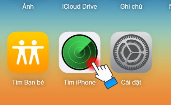 Kích hoạt tính năng xóa dữ liệu trên iPhone bằng iCloud