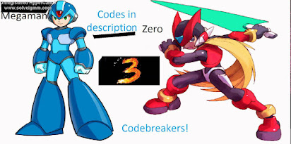 megaman zx advent action replay codes