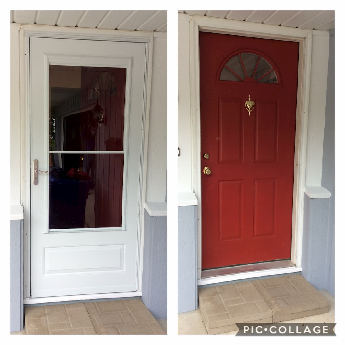 Mr. Handyman front door repair
