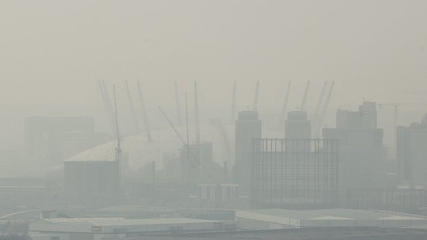 London lost in air pollution
