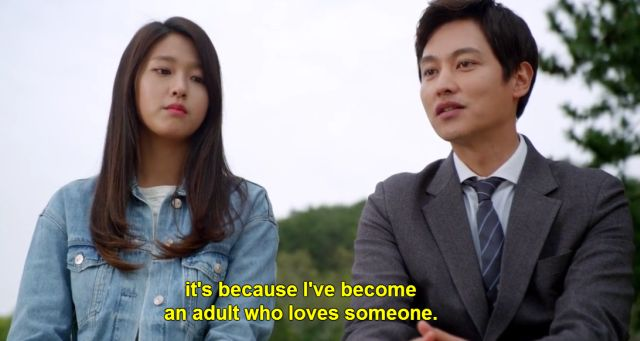 Yoon Jae admits love makes the secret easier to Ma Ri.b.jpg
