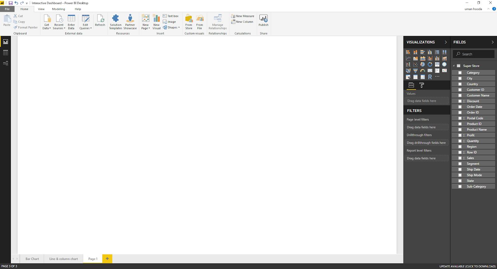 Interactive Dashboard In Microsoft Power BI 37