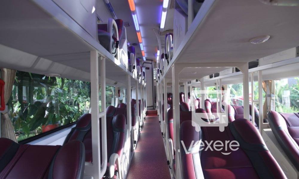 Nội thất xe Sapa Shuttle Bus đi Sapa