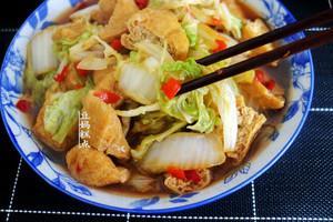 又一好吃的大白菜做法,花不到5块钱,家常下饭的做法 步骤12