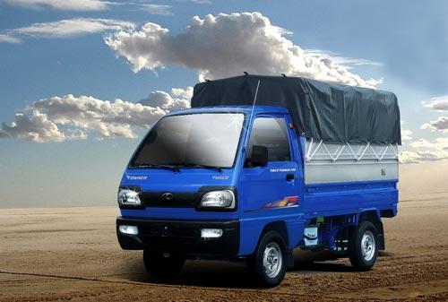 thaco towner màu xanh