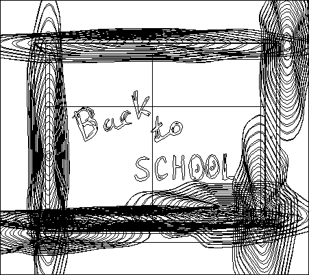 Chalkboard Illustration Outline