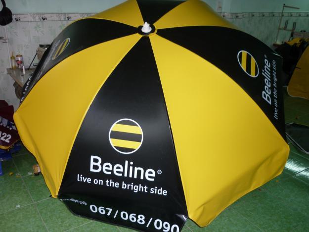 Vải ô dù Hiflex sử dụng để làm quảng cáo