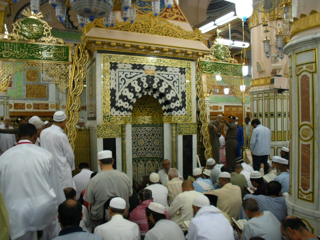 Raudah, Nabawi, Prophet's Mosque, Madinah, Saudi Arabia