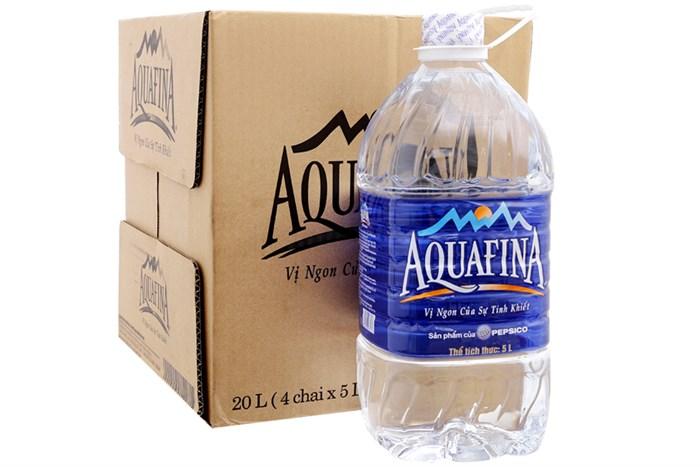 bình aquafina 5l