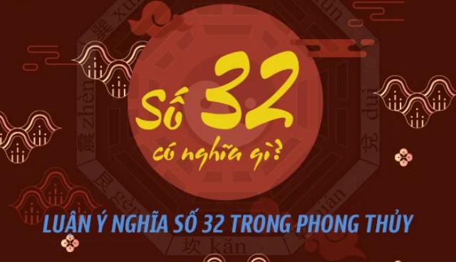 ý nghĩa số 32 trong phong thủy