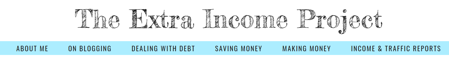 The Extra Income Project Blog