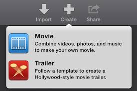 Image result for iMovie select movie