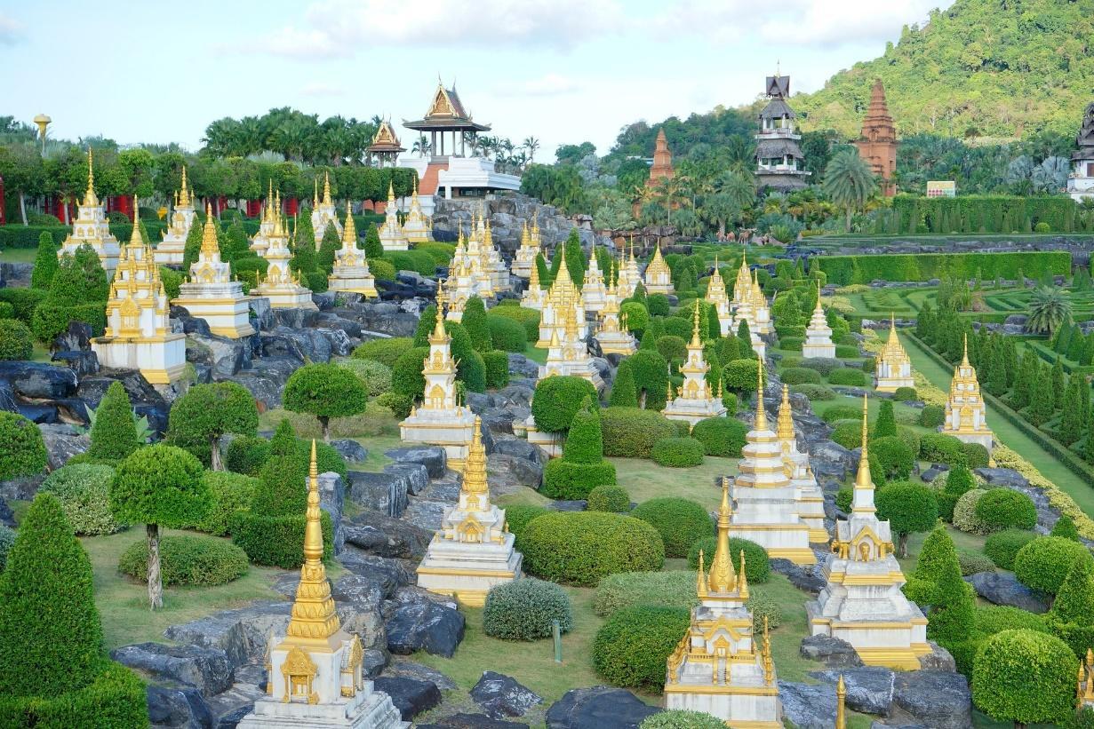 Nong Nooch Tropical Garden - pattaya thailand