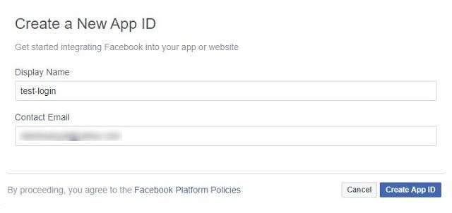 oauth2 facebook create app id