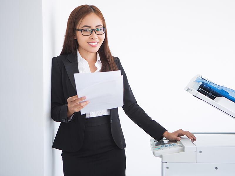 Photocopy bị lỗi SC672