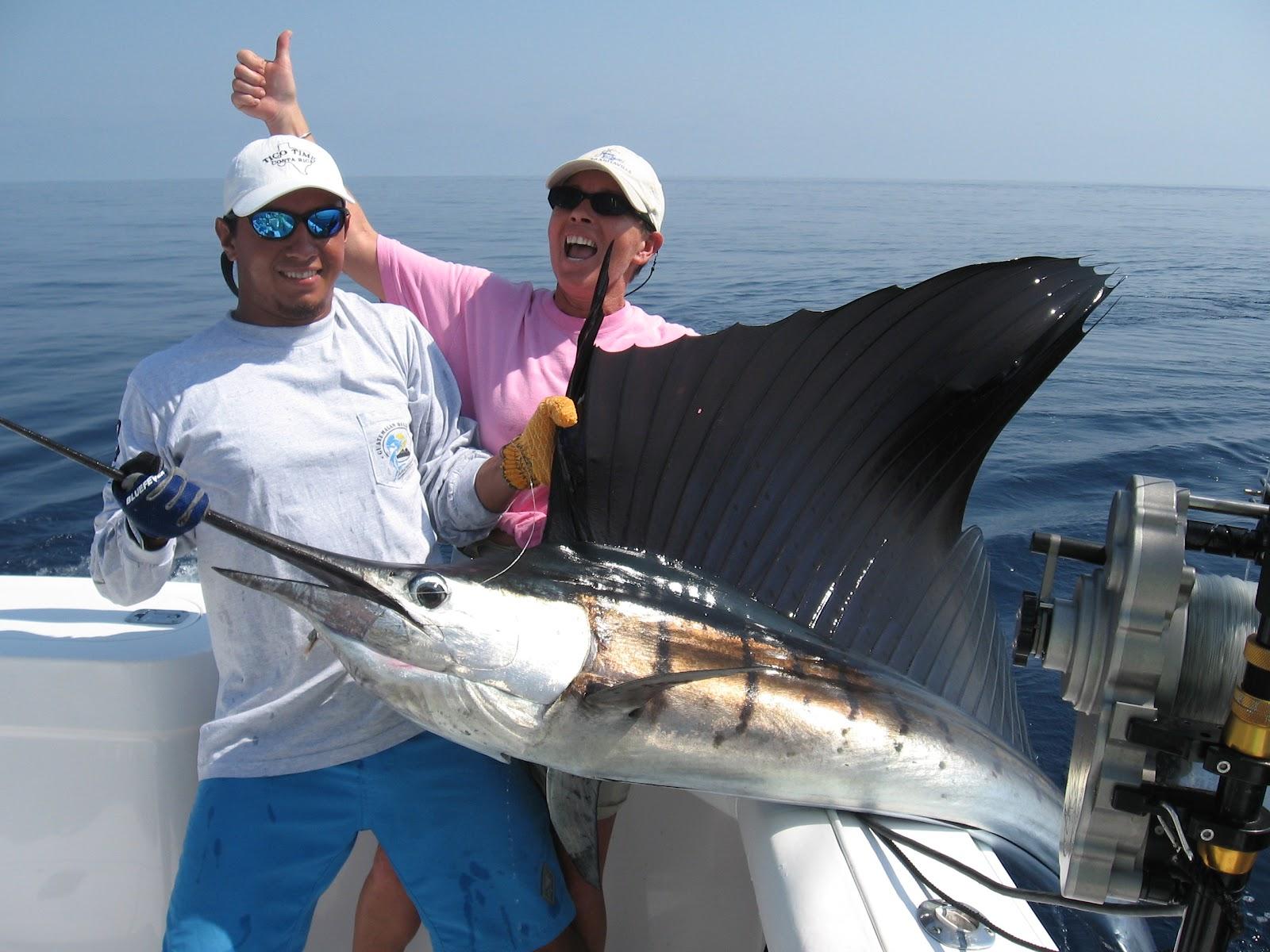 Costa Rica Fishing at Los