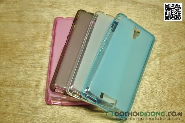 Ốp lưng Gionee P4 dẻo trong