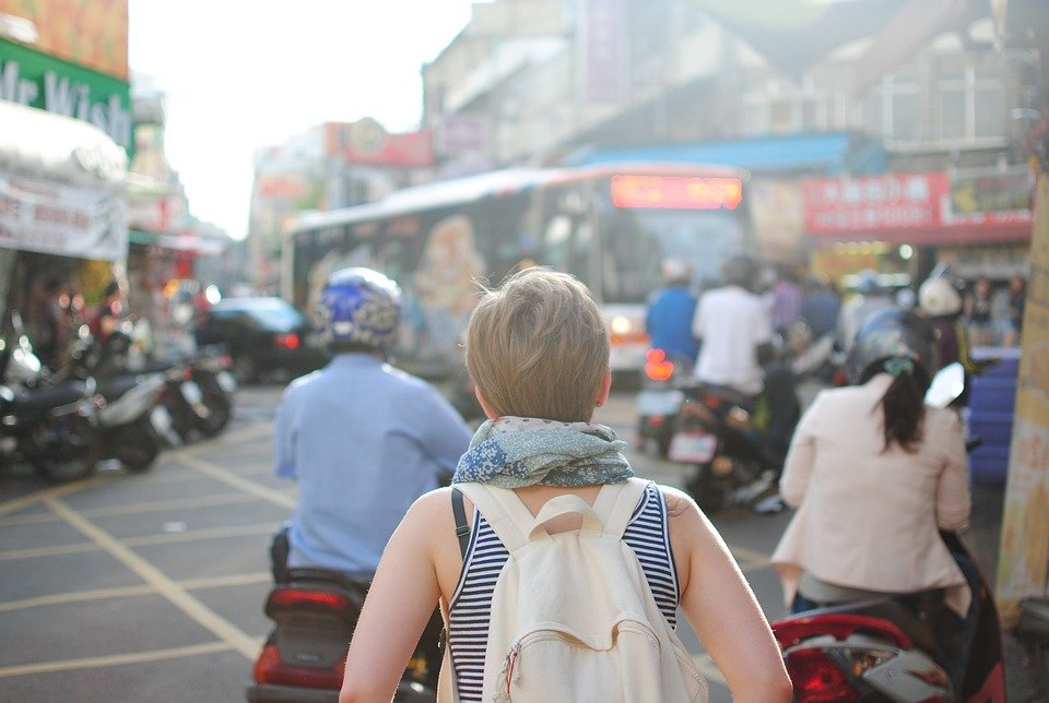 How to Stay Healthy and In Shape While Studying Abroad: Take Walks with Your Backpack