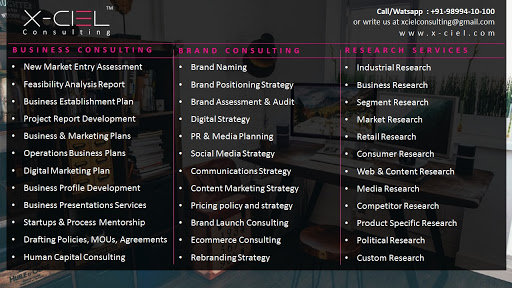 X-Ciel Consulting Pvt  Ltd  - Business Consulting, Brand
