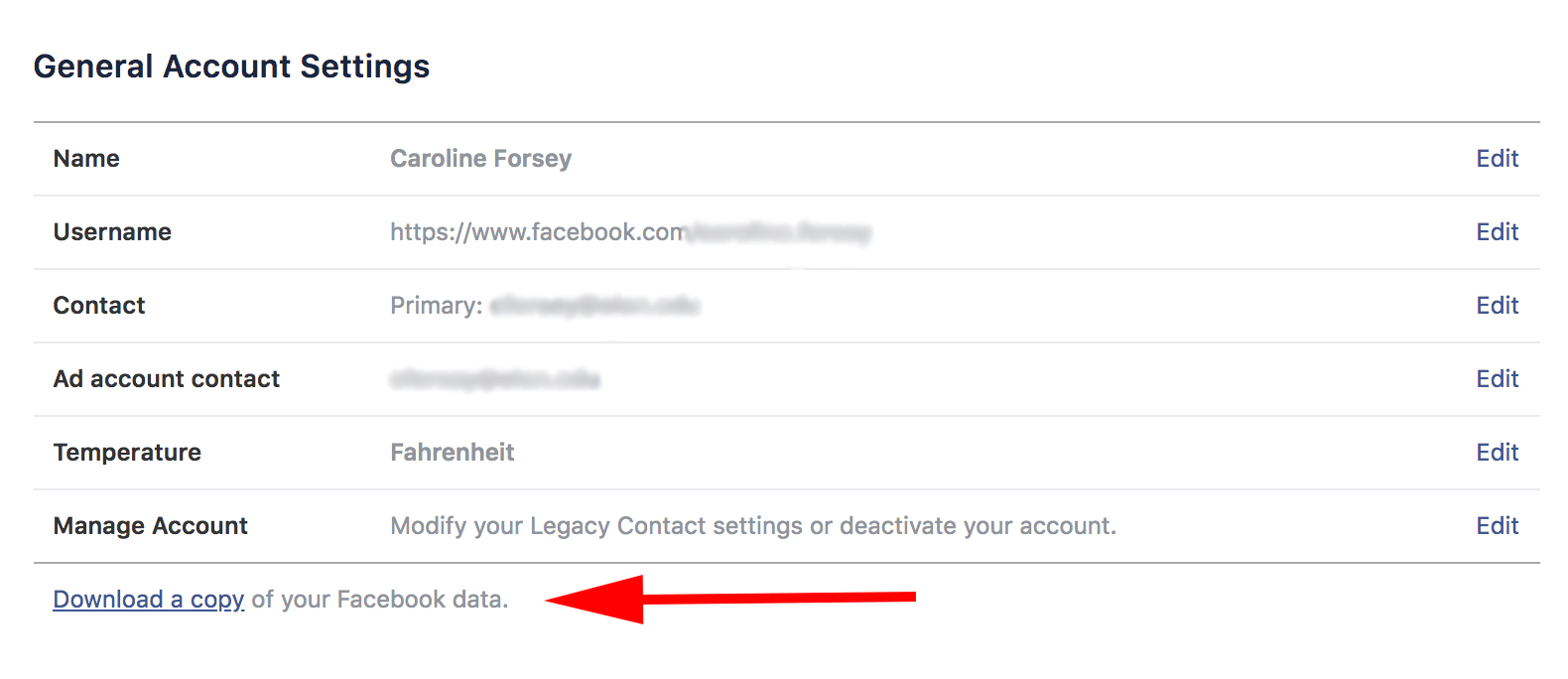 "new concept 35633 ea2c7 To download a copy of all your Facebook information, go to ""Settings"" and  click, ""Download a copy of your Facebook data,"" and then, ""Start My  Archive."""