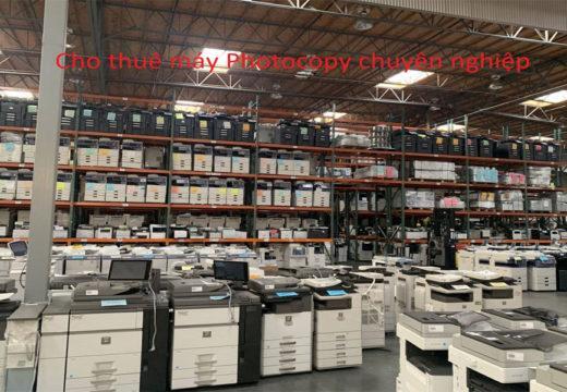 Thuê máy photocopy chuyên nghiệp