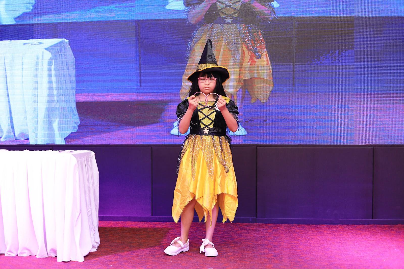 Thí sinhTrần Ngọc Huyền (9 tuổi)