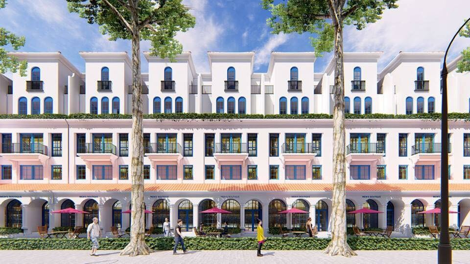 Thiết kế nhà phố shophouse Sunshine Wonder Villas