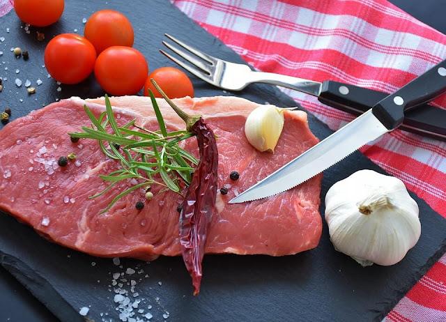 zinc rich foods table