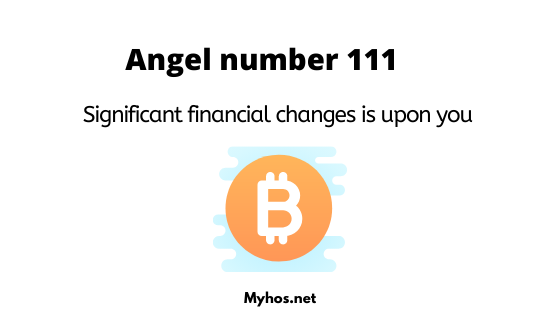 you are seeing 111 because abundance is coming your way
