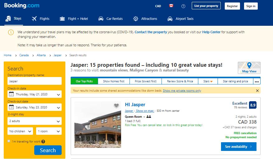 Booking.com - service marketplace