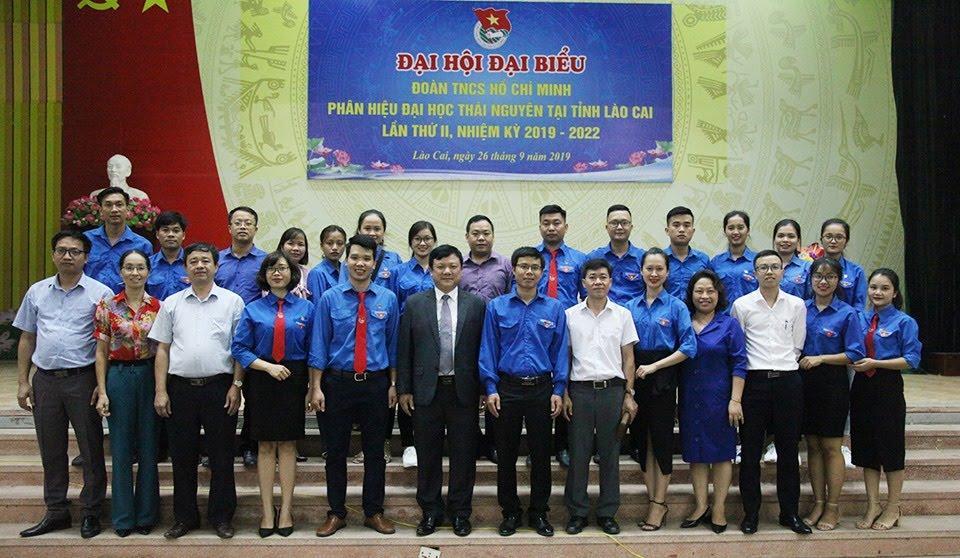 Đại hội Đại biểu Đoàn TNCS Hồ Chí Minh Phân hiệu ĐHTN tại tỉnh Lào Cai lần thứ II, nhiệm kỳ 2019 – 2022