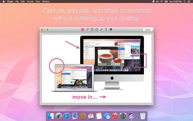 tools situs desainer grafis droplr