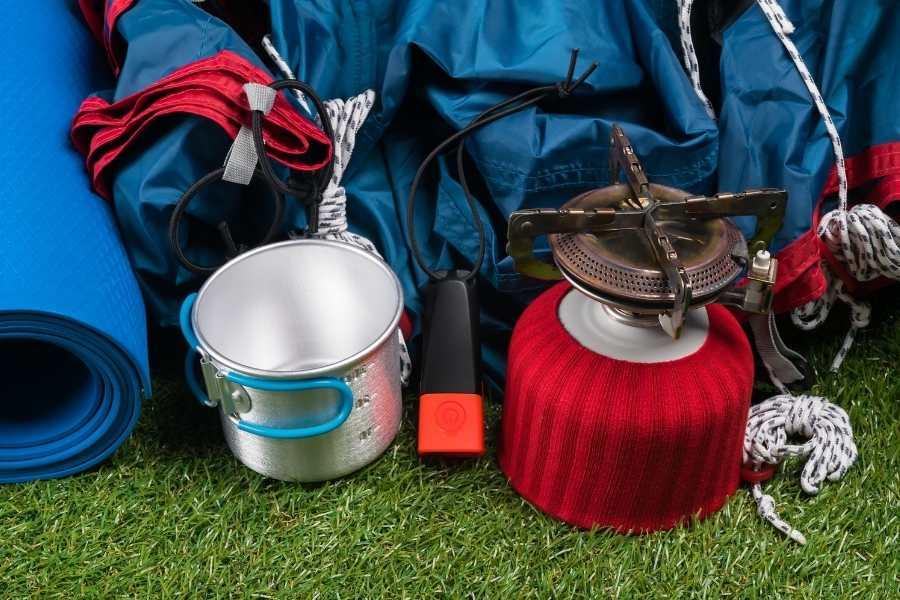 packing light for kayak camping