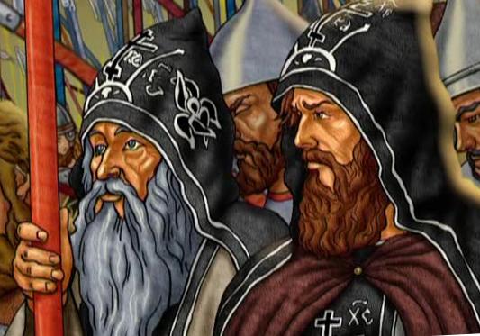 Святые монахи