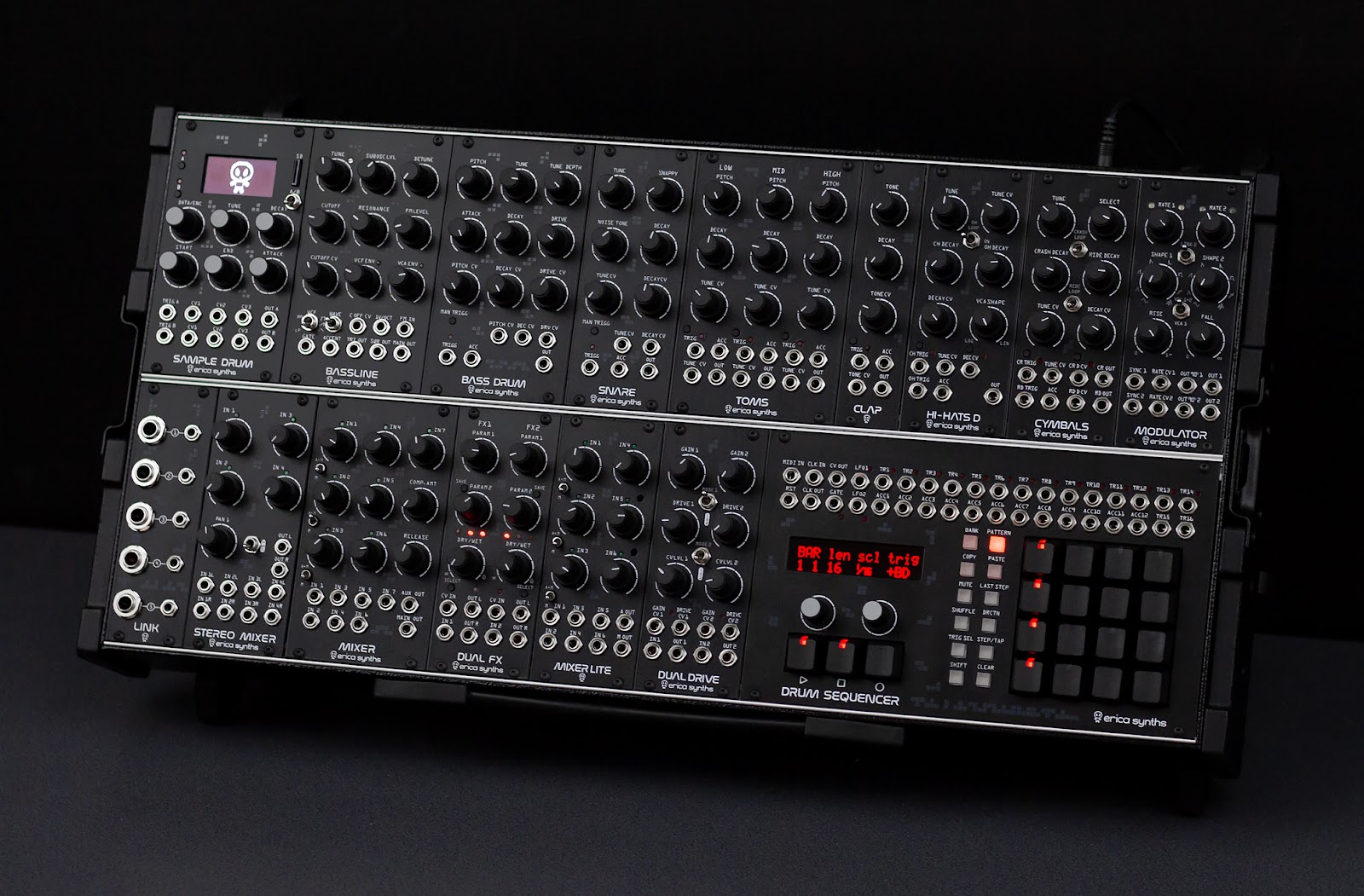 Erica Synths Techno System  ten of the best drum machines