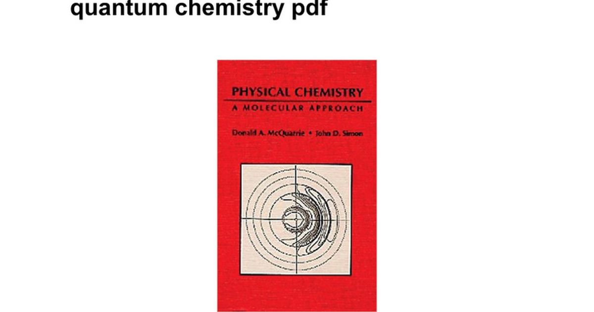 Problems and solutions for mcquarrie s quantum chemistry pdf problems and solutions for mcquarrie s quantum chemistry pdf google docs fandeluxe Choice Image