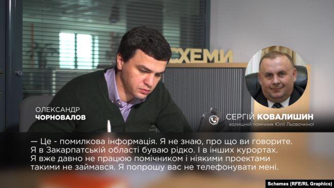 Редакція також звернулася за коментарем до Сергія Ковалишина – колишнього помічника Юлії Льовочкіної