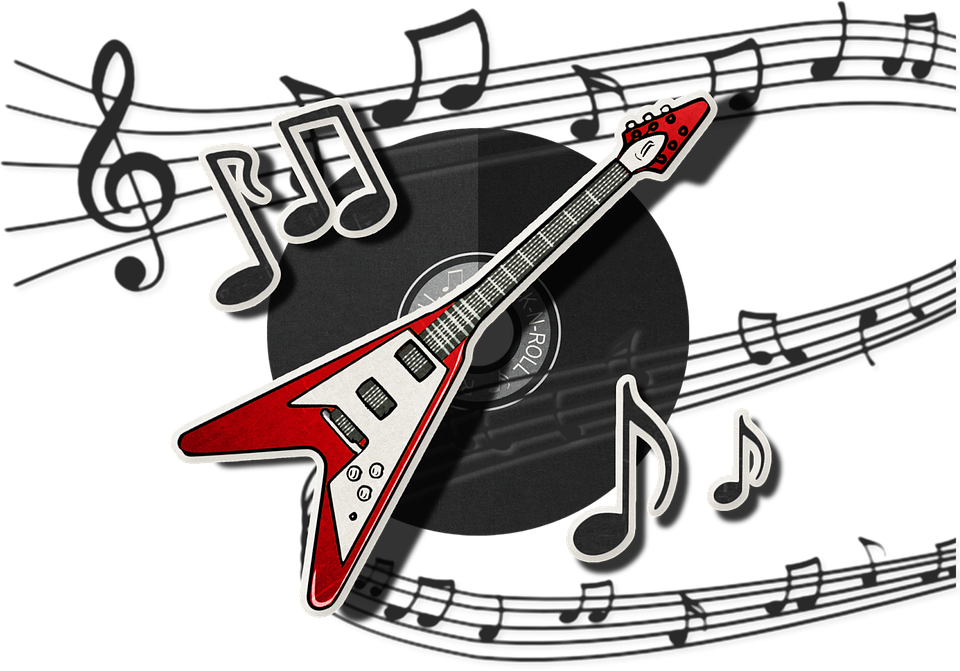 Guitar, Music, Rock, Musical, Play, Song, Notes