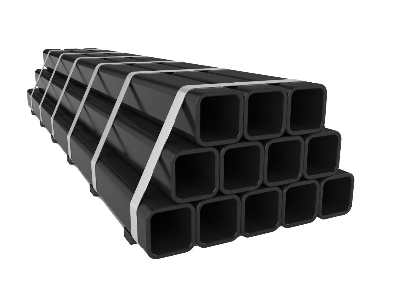 Thép hộp đen với độ cứng cao và khả năng chịu lực tốt