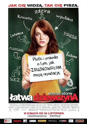 Przód ulotki filmu 'Łatwa Dziewczyna'