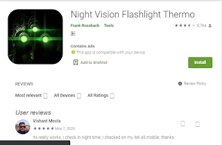night vision camera app for android