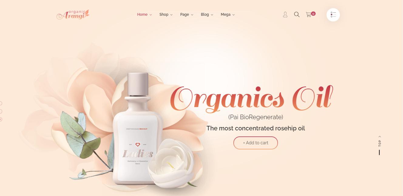 Arangi - premium Shopify theme