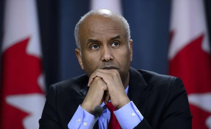 Black Canadian Muslim -Minister Ahmed Hussen