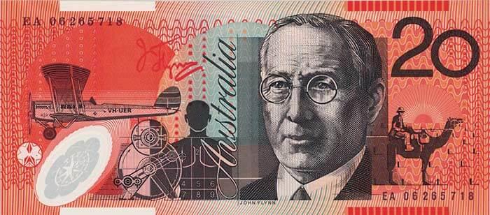 Twenty dollar note