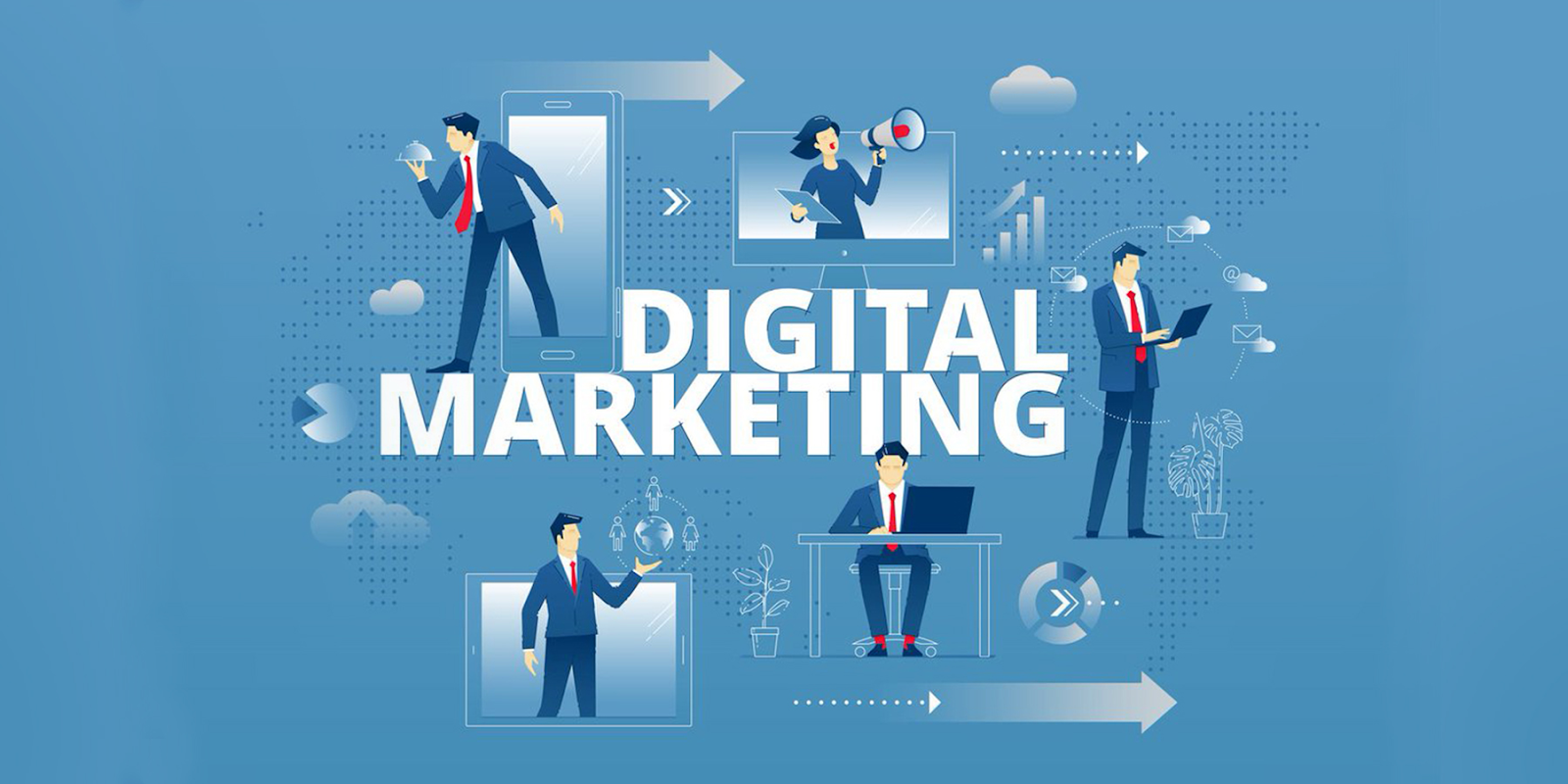 Trong và sau đại dịch, digital marketing có lẽ sẽ càng phát triển