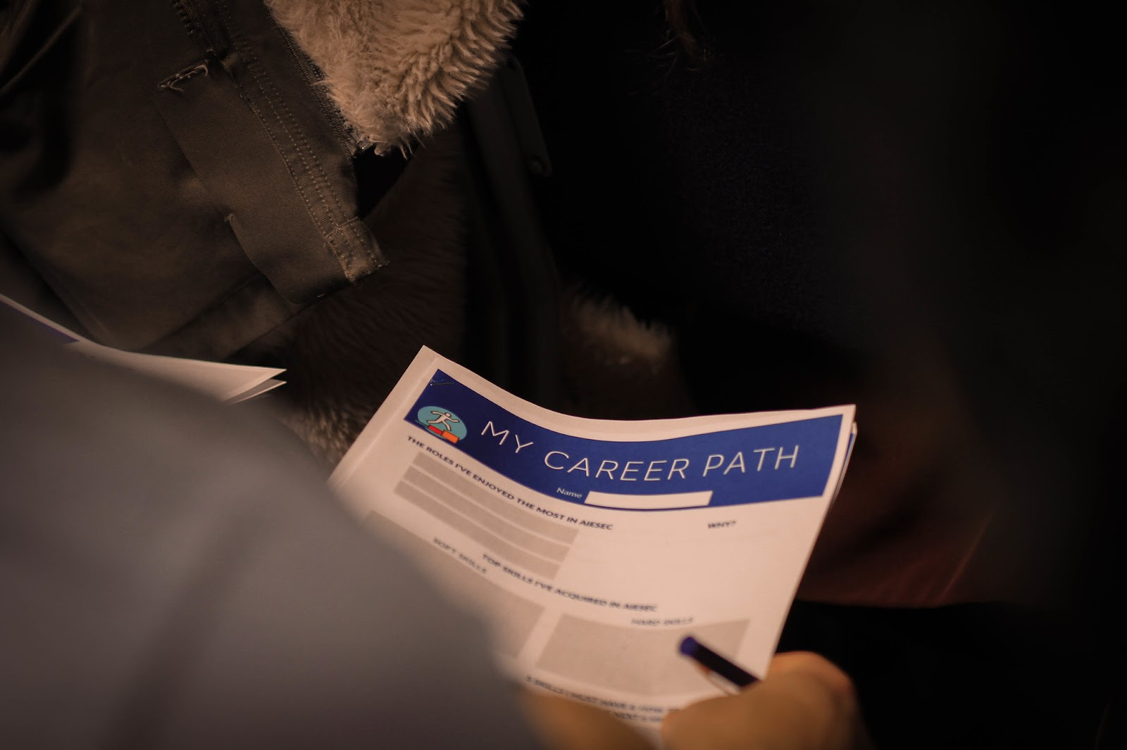 """My career path"" document"